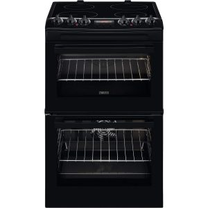 Zanussi Electric Ceramic Cooker with Halogen Hob